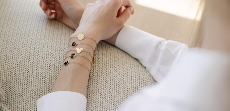 Bracelet sur chaîne