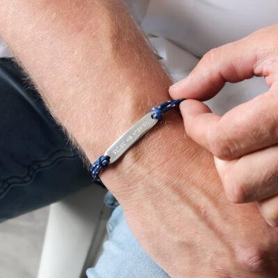 Men's Bar Bracelet