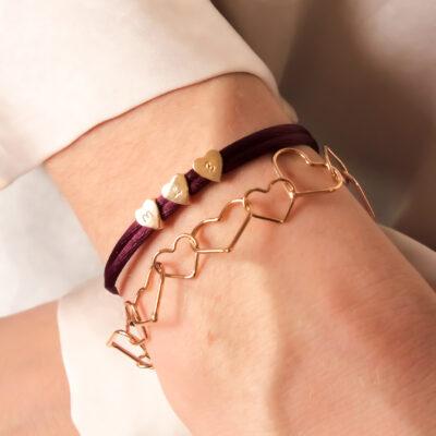 Hearts Armband