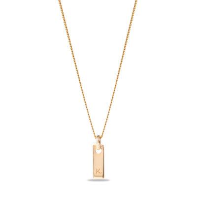 Tiny Tag Necklace