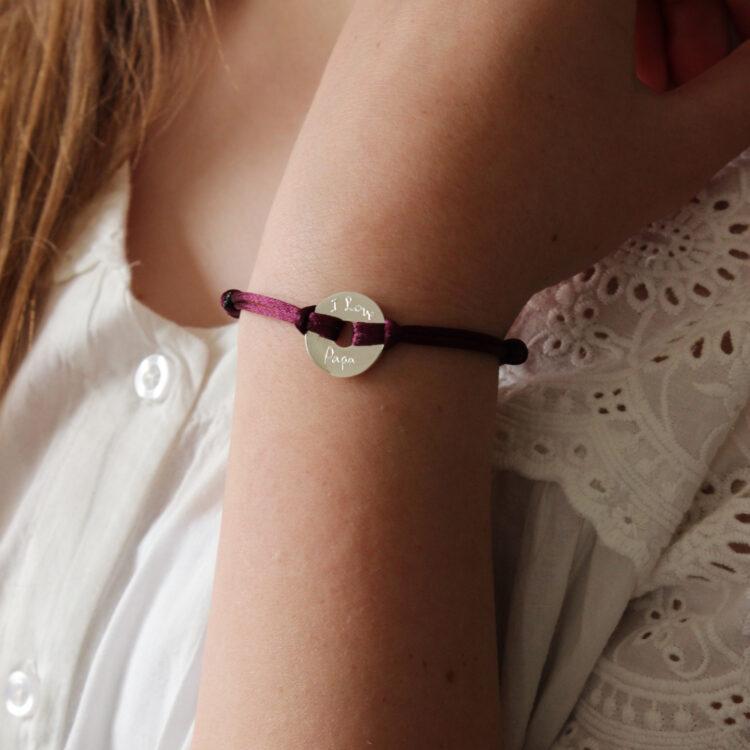 Mini Open Disk Bracelet