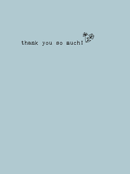 Thank you so much